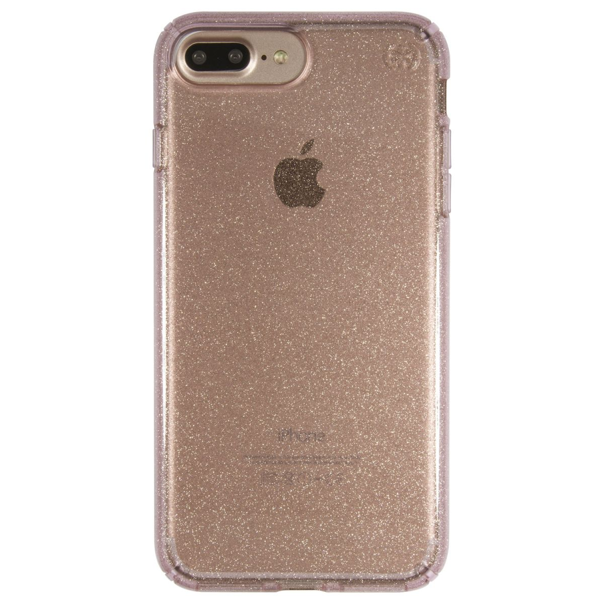 Carcasa Speck iPhone 7 Plus Presidio Clear Rose Pink With Gold Glitter