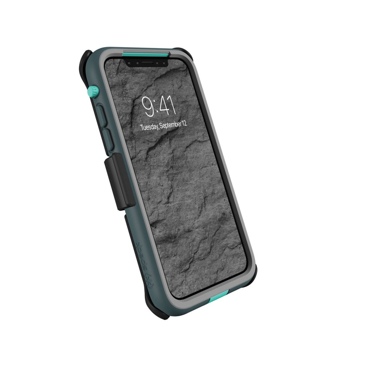 Carcasa bumper iPhone X Presidio Ultra Gri