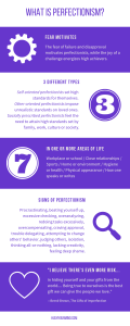 What Is Perfectionism + Why It's a Heartbreaking Problem | It's easy to mistake being a perfectionist with having all your stuff together. You have to pay a hefty price: your happiness. So, what exactly is perfectionism? And why is it a heartbreaking problem? Free infographic included.