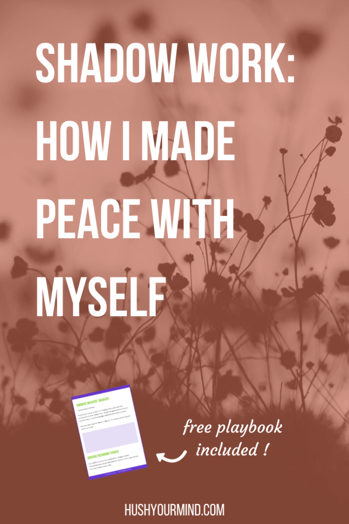 "Shadow Work: How I Made Peace with Myself | Shadow work—or accepting negative thoughts and ""unacceptable"" aspects of ourselves—heals past hurts, mends relationships and brings peace. Here's how."