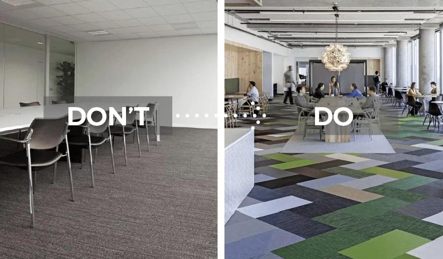 Aménagement bureaux cool corporate