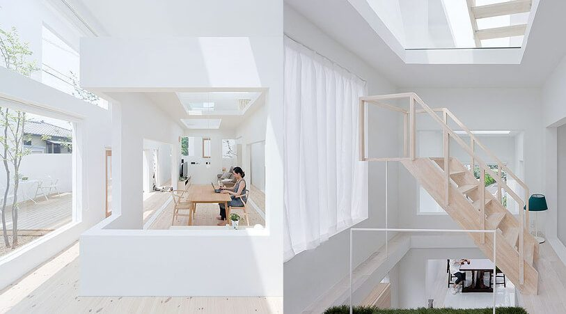 inspiration architectes japonais transparence