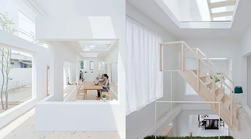 inspiration architects Japanese transparency