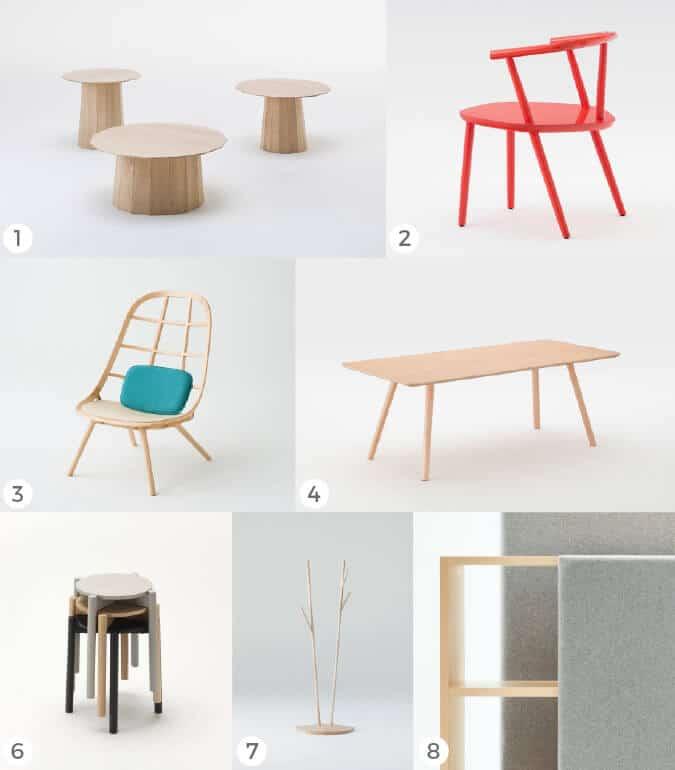 inspiration architects Japanese furniture ideas