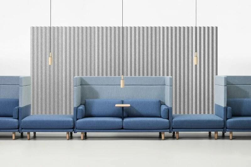 revêtement acoustique mural design mute de vorm huskdesignblog