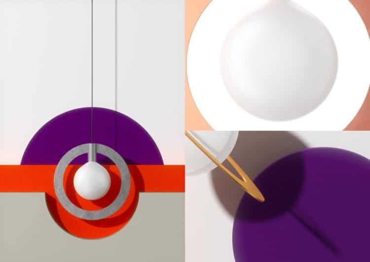 Suprematic Lamps by Wishnya Design Studio