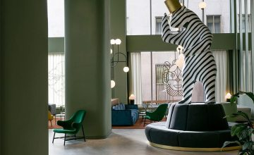 GET THE LOOK # 7 - The Barceló Torre de Madrid hotel by Jaime Hayon