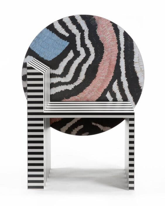 New Maroc chair by Kelly Behun, curated by huskdesignblog.com