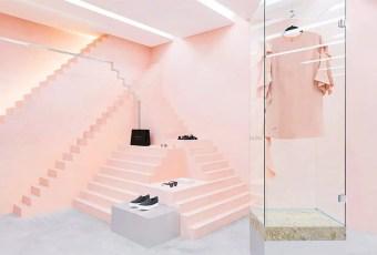 TENDANCE: Le rose en retail