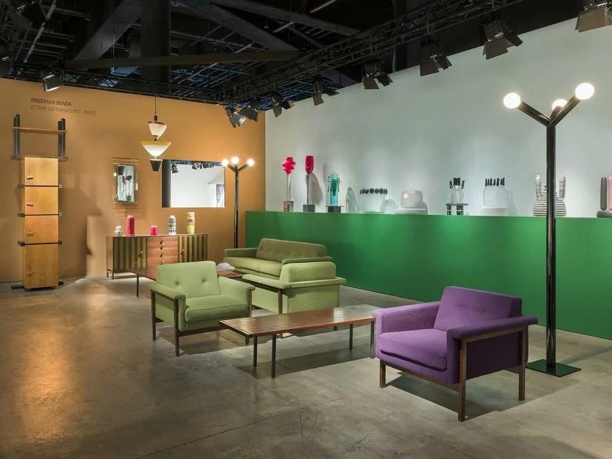 DesignMiami/ Basel 2017, Friedman Benda, Ettore Sottsass