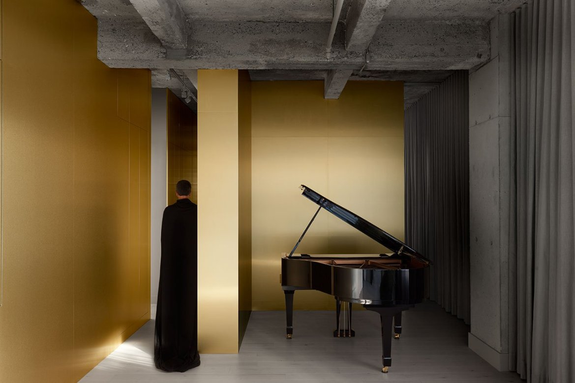 Yellow and Gold Trend, Jean Verville Architect