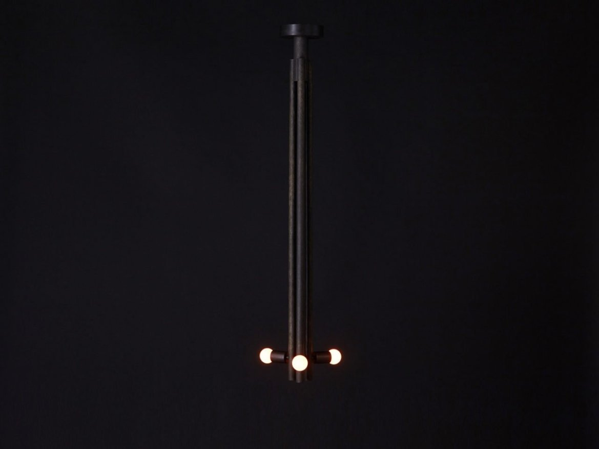 Workstead, Pendant Oxidized Full Black