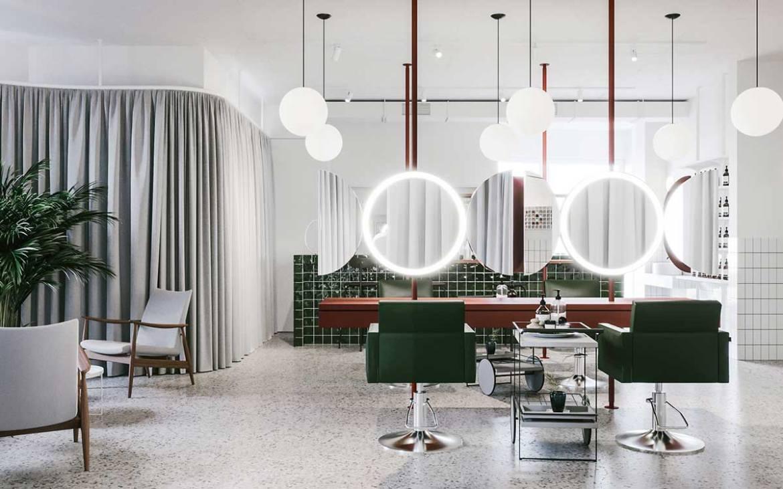 Interior Design, Salon Odes, Odessa, Ukraine, Emil Dervish and Evgeni Bulatnikov