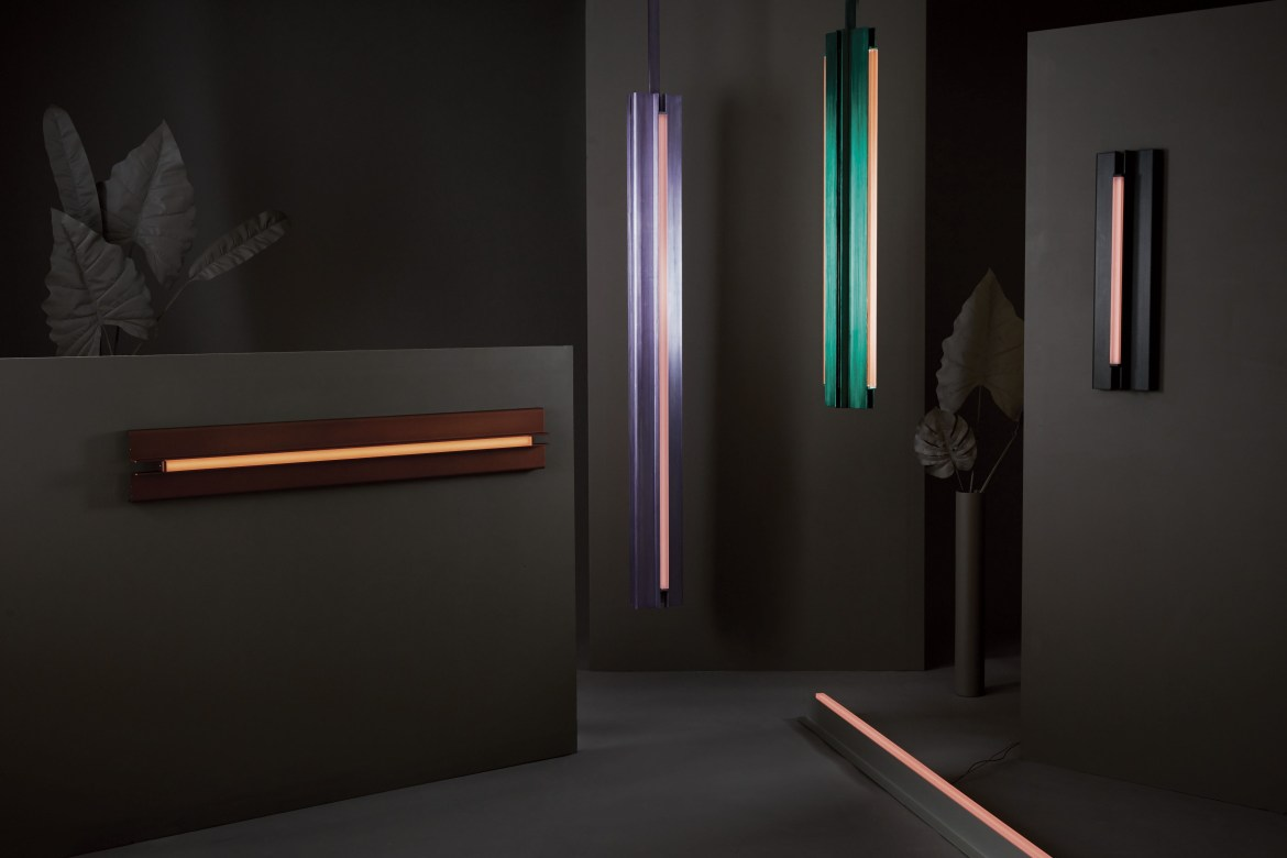 Discover Beam and Glow, the latest lighting collection of the talented PELLE studio...