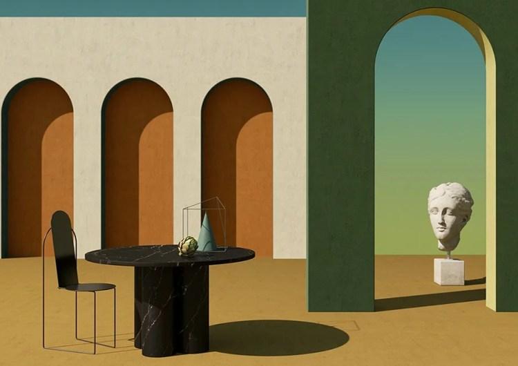 Notoostudio fait revivre la peinture surréaliste du XXeme siècle