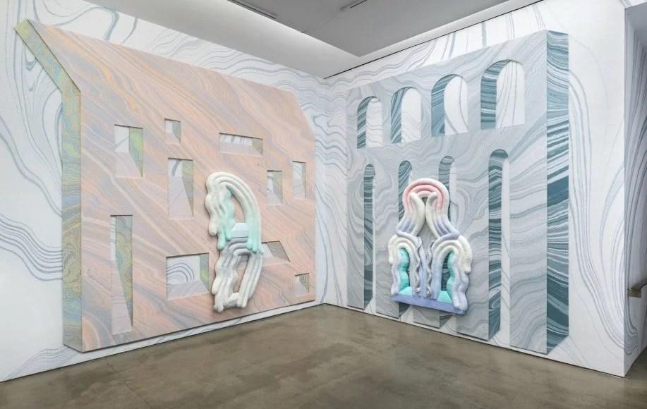 La designer et artiste américaine Lauren Clay présente l'exposition Windows and Walls, jusqu'au 21 décembre 2018 à New York.