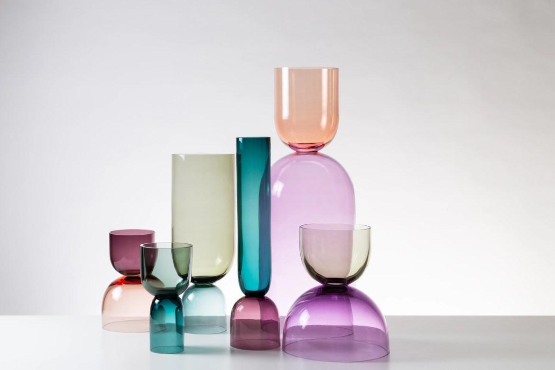 Maison&Objet 2019, SkLO, Crescent glass accessories