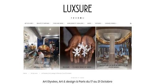 Art Elysées 2019, Luxsure, Huskdesignblog