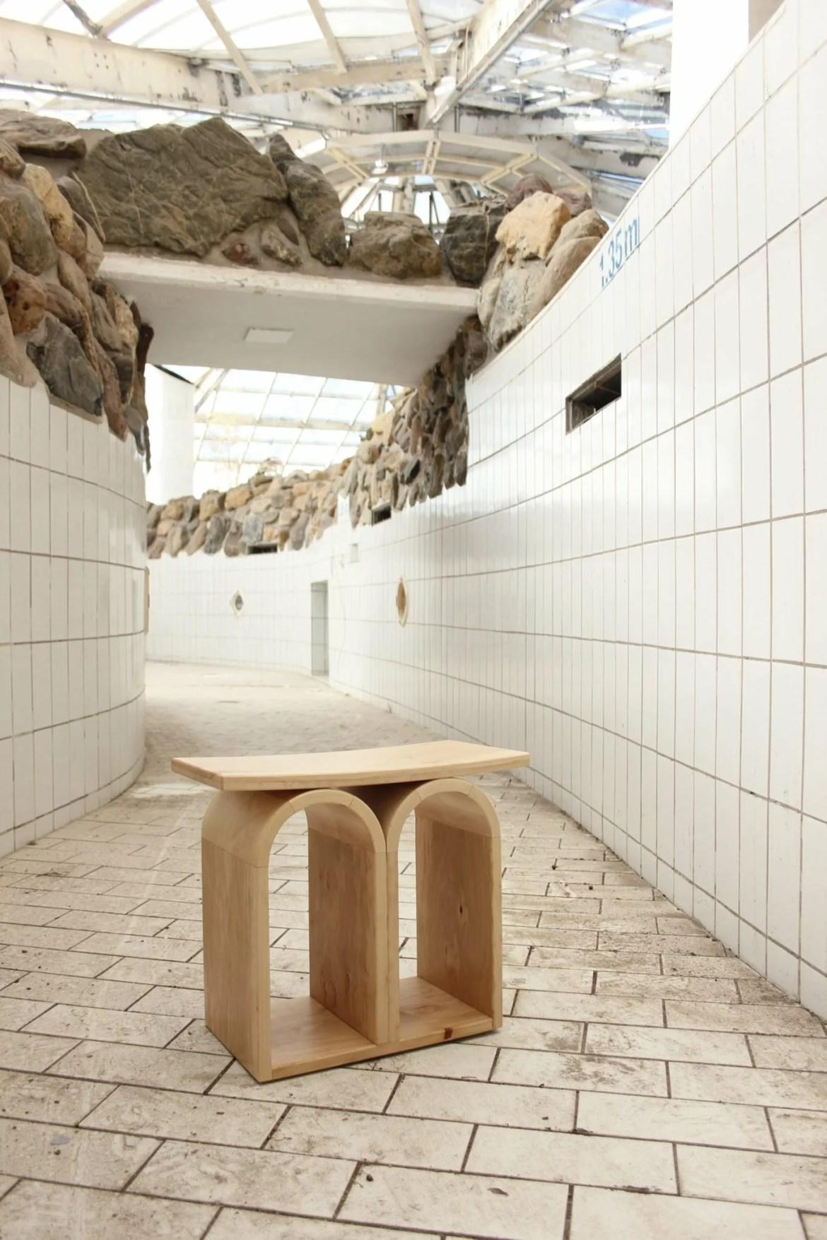 Sculptural design furniture Dutch designer Jordi Verbaan