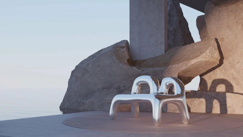 Imagined, for uncertain times, exposition virtuelle créé par soft-geometry, Léa Mestres designer