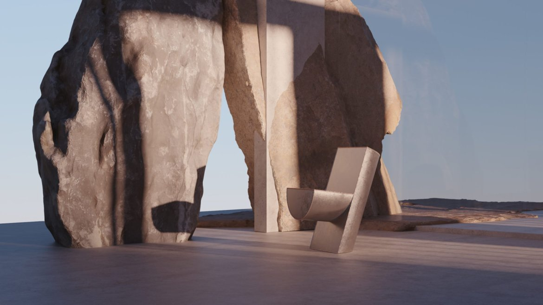 Imagined, for uncertain times, exposition virtuelle créé par soft-geometry, Voukenas Petrides designer