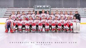 Husker Hockey 2019-2020 Team Photo
