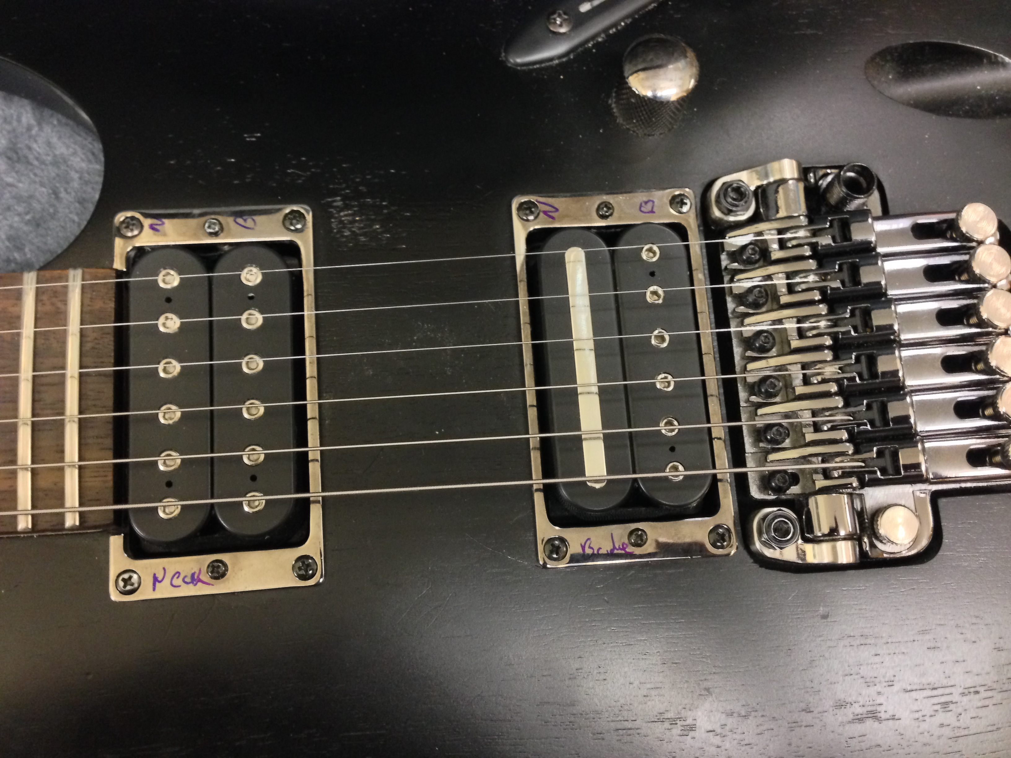 simple guitar pickup wiring diagram laptop keyboard changing the pickups in an ibanez s420 – inability to follow instructions