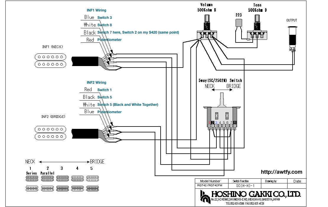 inf 1 2 wiring diagrams