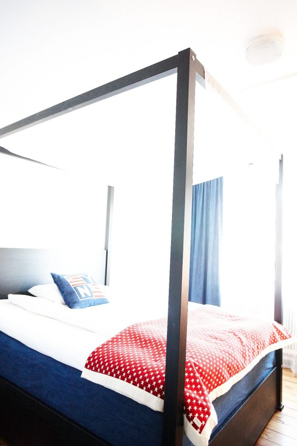 Säng i Marina rummet