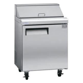 Kelvinator 27 inch 6 cu. ft. sandwich salad prep table KCST27.8-738016
