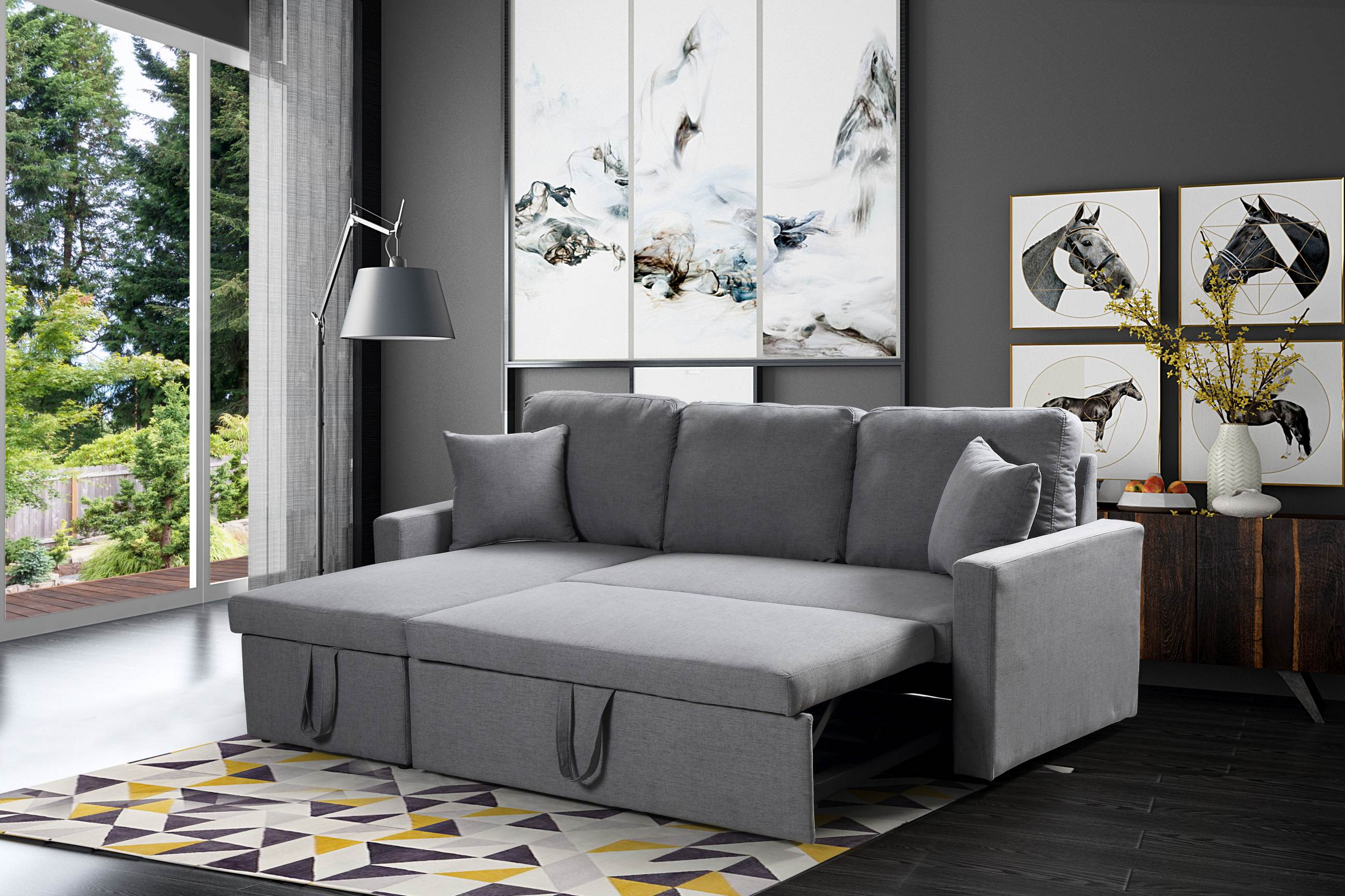 plush zara sofa review sure fit throw cover reversible sectional 3 in 1 bed