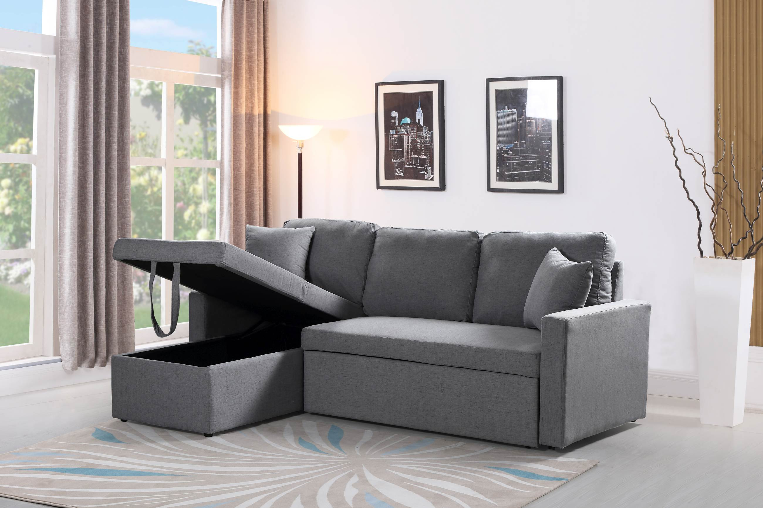 plush zara sofa review cheapest covers uk reversible sectional 3 in 1 bed