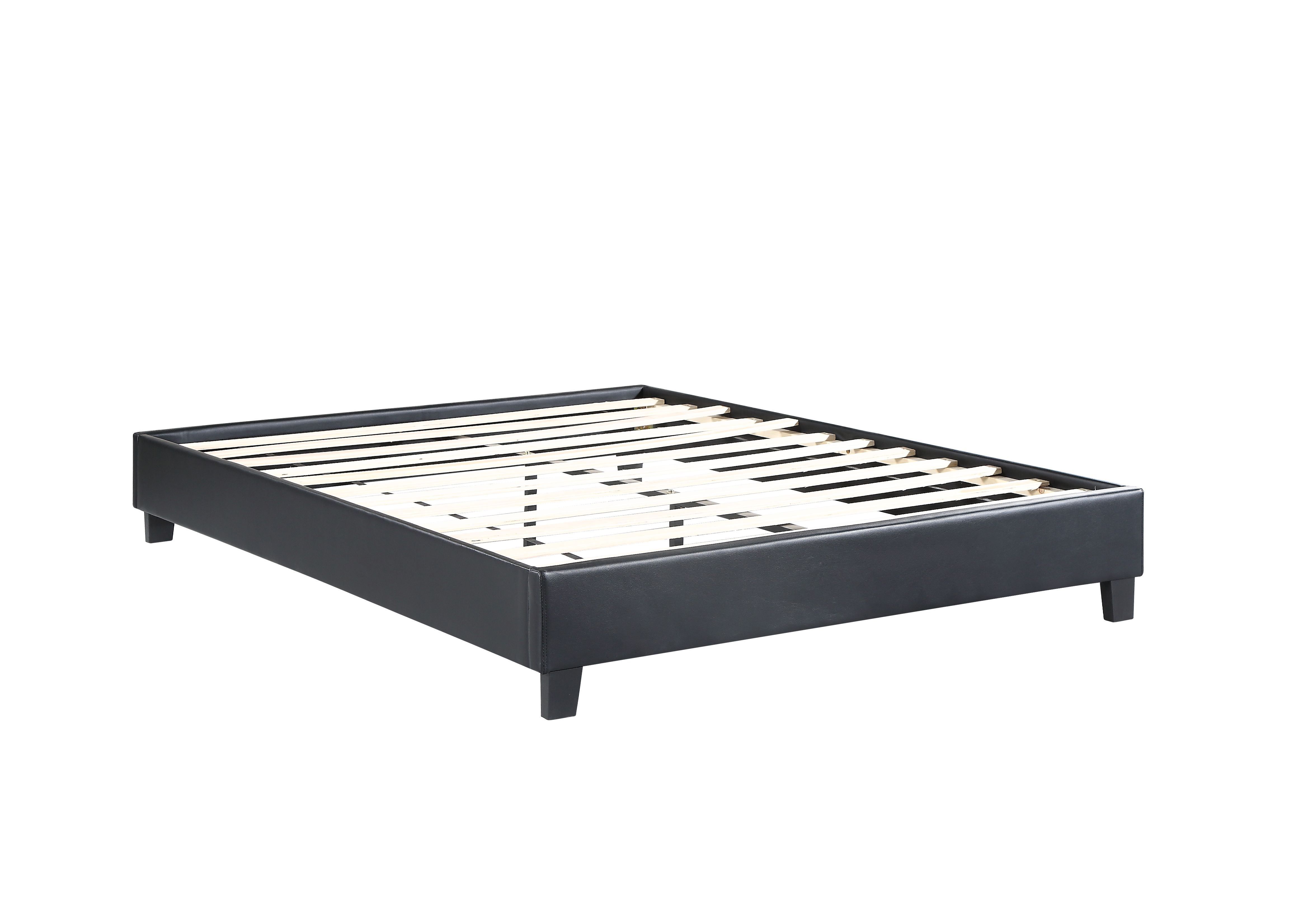 Husky Paragon Platform Bed Black Queen Free Shipping In Canada