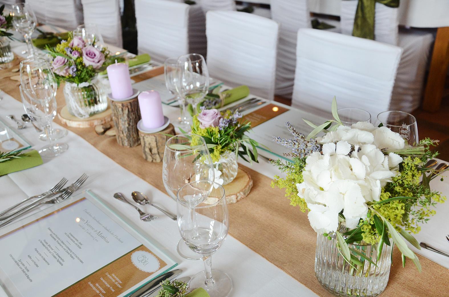 tischdeko hochzeit hortensien im glas reimplica best garten ideen, Garten und bauen