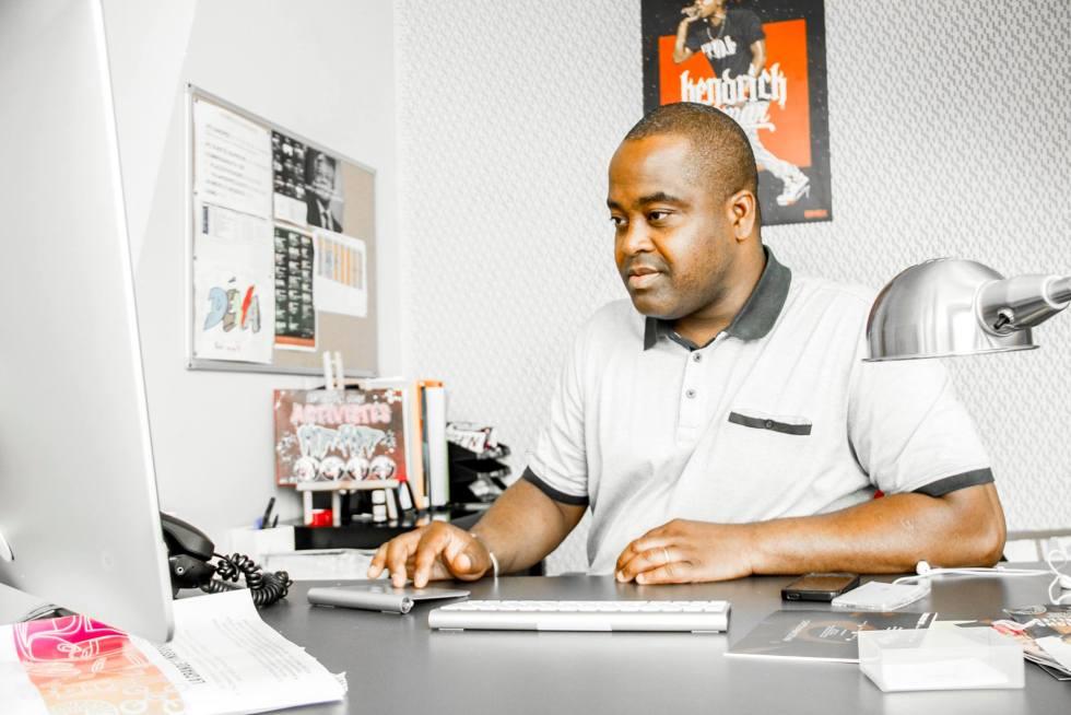 Arnaud Houndjo, Responsable Espace Entrepreunariat La Place