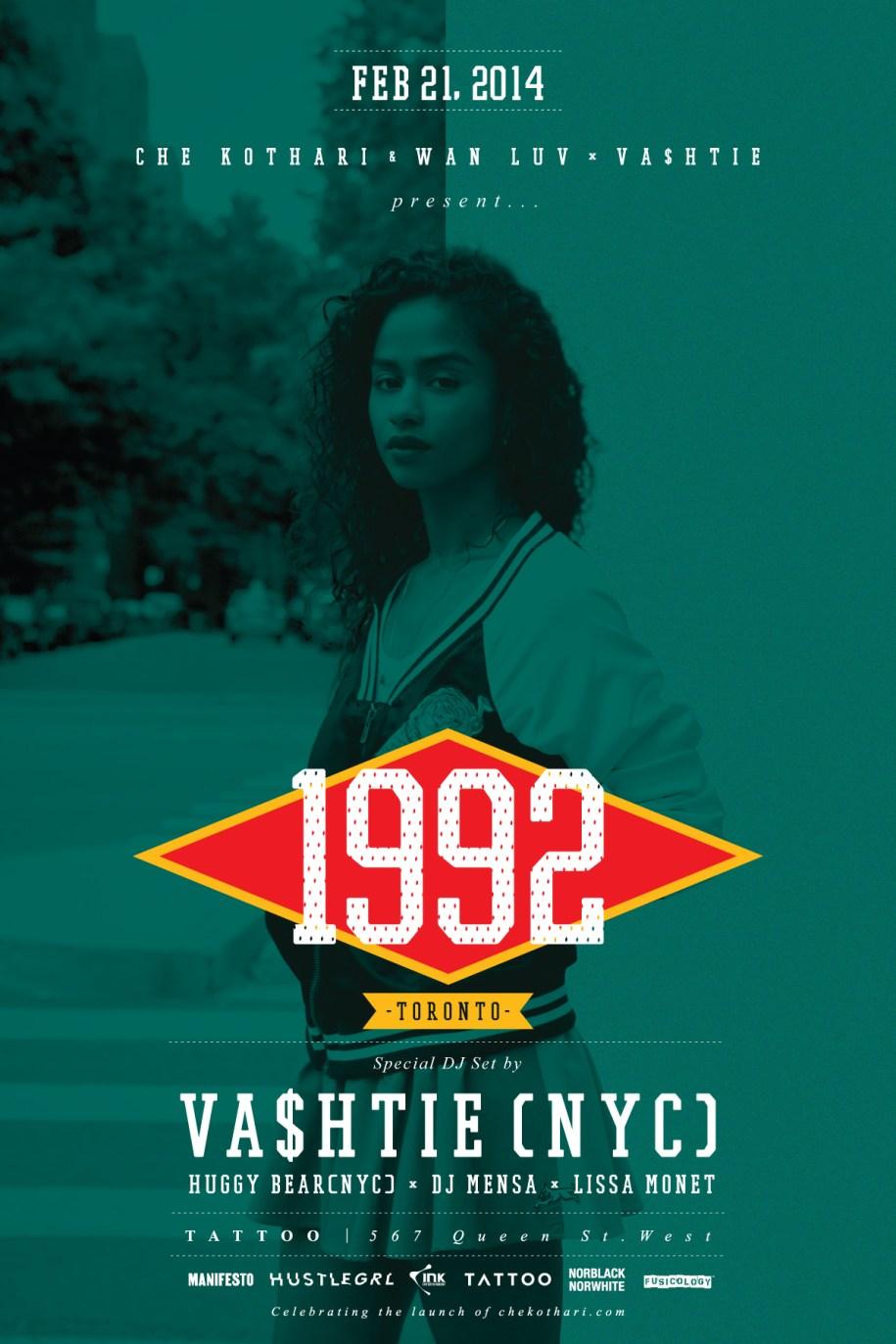 1992_Vashtie_Toronto_FLYER