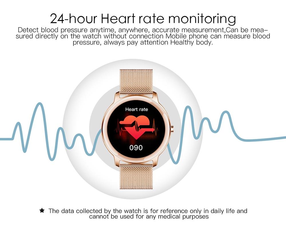 Super Slim Fashion Women Smart Watch