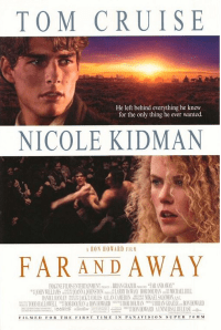 May 22, 1992: FAR AND AWAY - $58.8 million total box office gross