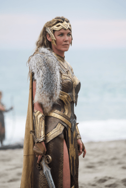 Connie Nielsen co-stars in WONDER WOMAN