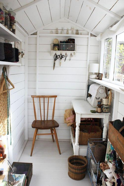 She-shed Home Office Ideas