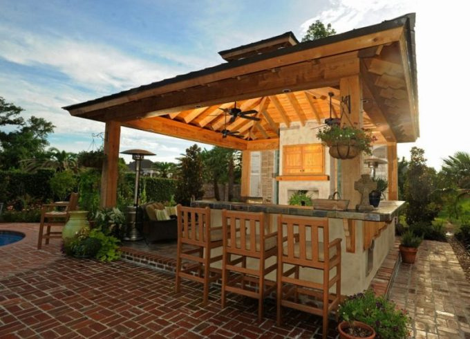 beautiful outdoor kitchens