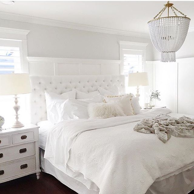 All White Small Bedroom Ideas