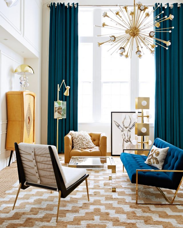 Playful Eclectic Modern Living Room Ideas