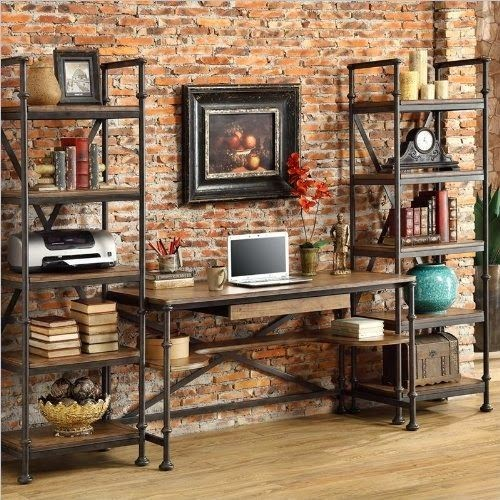 industrial home office desk