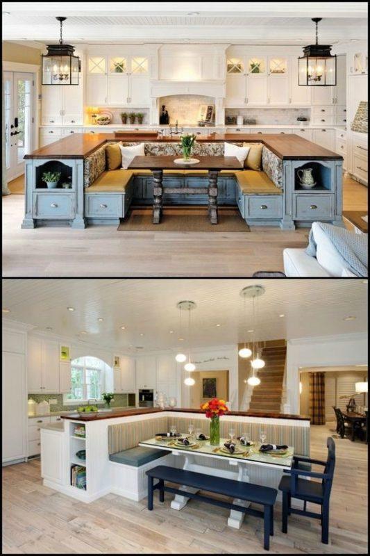 framing kitchen island