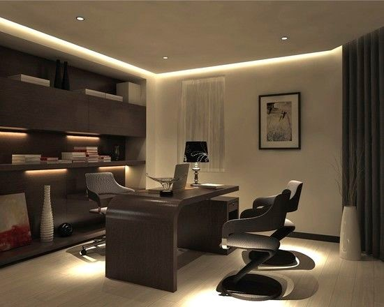modern home office room