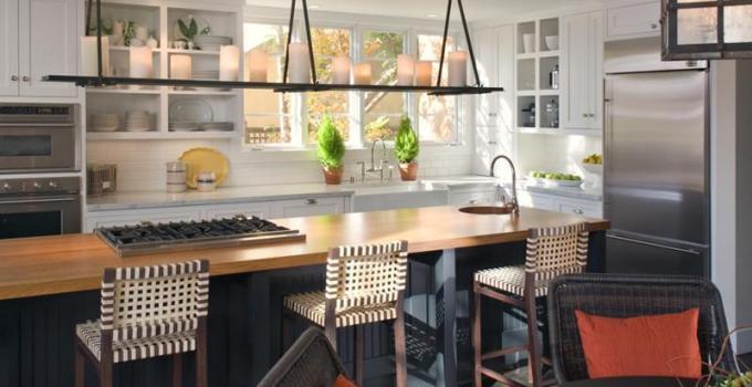 bar kitchen lighting ideas