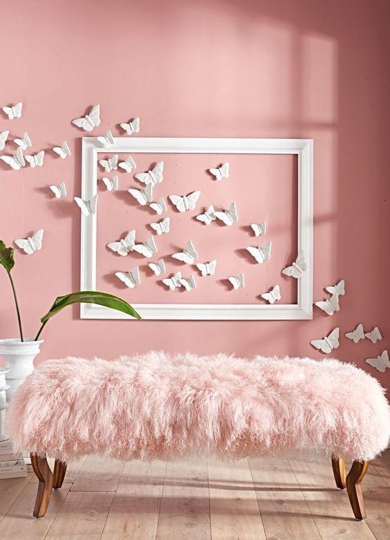 butterfly wall decor ideas