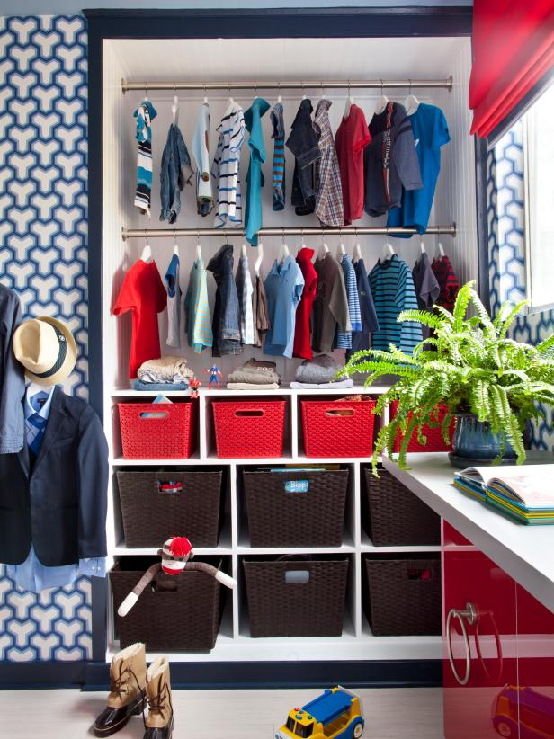 child closet organization ideas