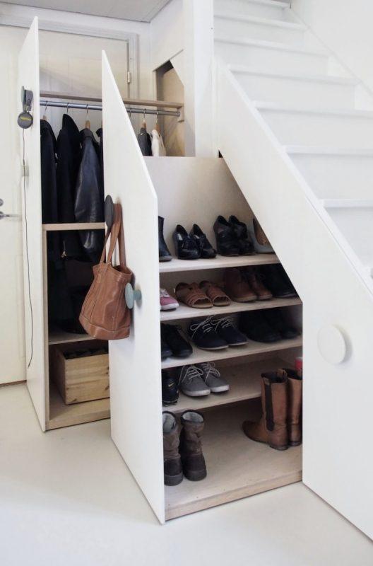coat closet organization ideas